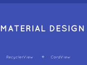 Tutorial para crear RecyclerView junto CardViews Android