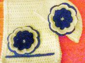Gorrito bufanda flor
