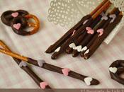 Idea para Valentín last-minute: Pretzels cubiertos chocolate