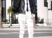 Black biker white boyfriend
