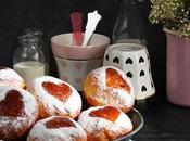Receta Valentín: Bollos vainilla mermelada