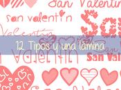 Valentín tipos lámina
