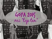 Goya 2015: