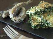 Tortilla espinacas sardinas