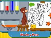 Jorge Curioso: Juego Mezclar Pintar