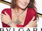 Carla Bruni sonríe para campaña DIVA BULGARI