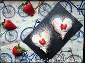 Corazones hojaldre acompañan Valentín