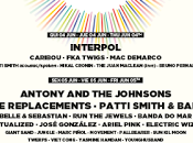 Primavera Sound 2015: Interpol, Patti Smith, Replacementes, Antony Johnsons, Ride...