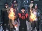 Portada aniversario Inhumanos Ladrönn para Guardians Team-Up