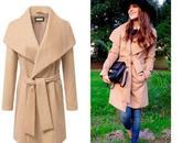 Camel coat: clon perfecto