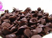Como hacer gotitas chip chocolate