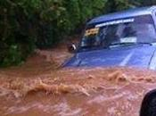 Nagua bajo real estado emergencia inundaciones
