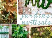 Jardines verticales elementos recuperados