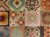 Suelos mosaico hidráulico decoración