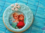 Galletas fondant frozen, princesas disney