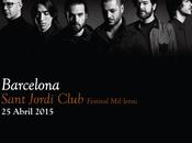 Vetusta morla barcelona, abril