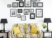 DIY: gallery photo wall