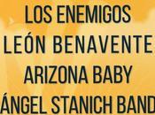 Palencia Sonora 2015: León Benavente, Ángel Stanich, Arizona Baby, Enemigos...