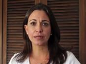 """Exige respaldar acciones golpistas desde exterior: María Machado reitera llamado violencia confirma, según ella, """"transición"""" Venezuela"""