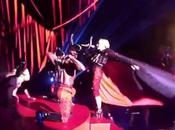 Madonna escenario Brit Awards
