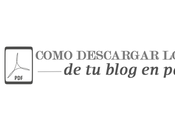 Como descargar post blog PrintFriendly