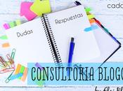 Consultoría Blogger Resolviendo dudas tutoriales