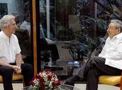 Raúl Castro Montevideo para asunción Tabaré Vázquez