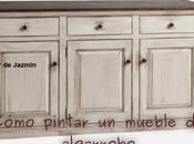 Cómo pintar mueble algarrobo