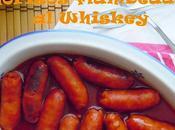 Chorizos flambeados Whiskey