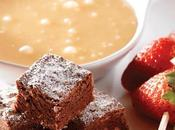 Fondue chocolate blanco