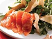 Ensalada salmón alcachofa