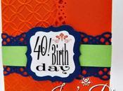 40!! Happy Birthday Invite.