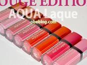 AQUA Laque: labiales ligeros como agua