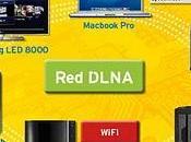 Comparte contenidos entre ordenador otros dispositivos DLNA