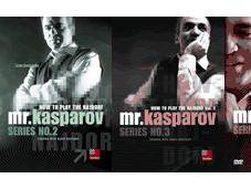 Garry Kasparov Cómo jugar Najdorf Vol.1-2-3.