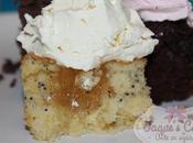 Cupcakes Limón semillas amapola