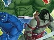 Adelanto Hulk Agents S.M.A.S.H. para marzo