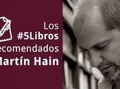 #5Libros recomendados Martín Hain