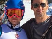 "Primer vistazo hugh jackman taron egerton rodaje biopic esquiador eddie aguila"" edwards"
