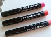 Maybelline Color Drama Intense Velvet Pencil: Review swatches