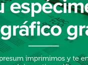 espécimen tipográfico gratis Impresum!