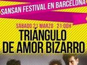 Sorteamos entradas para Triángulo Amor Bizarro Barcelona (fiesta presentación SanSan Festival)