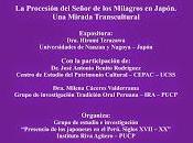CONVERSATORIO IRA: Procesión Señor Milagros Japón. mirada transcultural.