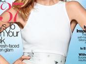 Natalia Vodianova posa vestidos blancos para Glamour