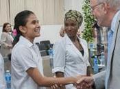 Anthony Lake, director ejecutivo Fondo Naciones Unidas para Infancia (Unicef visito Escuela Internacionaĺ Medicina.