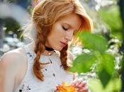 Bella Throne luce preciosa looks primavera para Teen Vogue