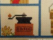 Mensaje bordado punto cruz. casa serviremos Señor message cross stitch: embroidery: house will serve Lord)