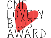 Nominación Lovely Blog Award
