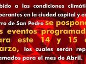 Festival Cerro Pedro programado para Abril