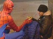 Birmingham Spider-man, Spiderman británico alimenta desfavorecidos.